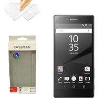 Case Man Sony Xperia Z5 Premium Silikon Kılıf Ultra İnce Koruma Telefonunuza Tam Uyumlu