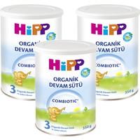 Hipp 3 Organik Combiotic Devam Sütü 350 gr - 3'lü