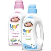Uni Baby Çamaşır Deterjanı 1500 Ml + Çamaşır Yumuşatıcısı 1500 M