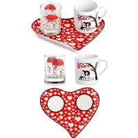CuteChef Kitchen Kalp Love Fincan Seti