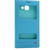 KNY Samsung Galaxy C9 Pro Kılıf MIKnatıslı Pencereli+Cam