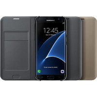 KNY Samsung Galaxy C9 Pro Kılıf Wallet Flip Cover Kapaklı+Cam