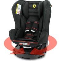 Ferrari Revo 0-18 Kg 360 Derece Dönebilen Oto Koltuğu - Siyah