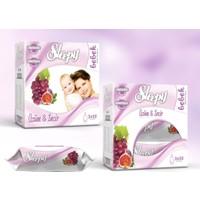 Sleepy 3X50'Li Kutulu Islak Havlu-Üzüm & İncir