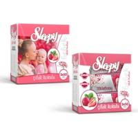 Sleepy 3X50'Li Kutulu Islak Havlu-Çilek