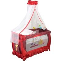 Papetto Cibinlikli Oyun Parkı Pilli Dönenceli ( 60X120) Kırmızı
