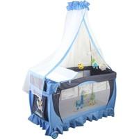Papetto Cibinlikli Oyun Parkı Pilli Dönenceli ( 60X120) Mavi