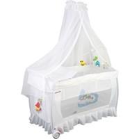 Papetto Cibinlikli Oyun Parkı Pilli Dönenceli ( 60X120) Beyaz