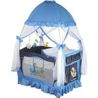 Papetto Kubbeli Oyun Parkı Pilli Dönenceli (76X110) Mavi