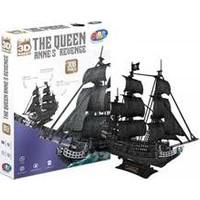 Adali Cubic Fun 3D Puzzle The Queen - Siyah İnci Büyük Boy