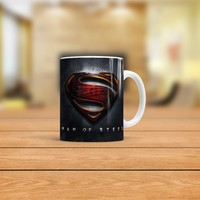 KFBiMilyon Superman Man of Steel Tasarımlı Kupa Bardak