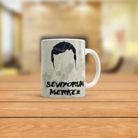 KFBiMilyon Behzat Ç Harun Seviyorum Merkez Tasarımlı Kupa Bardak
