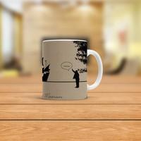 KFBiMilyon Leyla İle Mecnun İsmail Abi Hoop Tasarımlı Kupa Bardak
