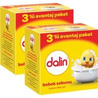 Dalin Bebe Sabun 100 gr (3'lü Avantaj Paketi) x 2 Adet