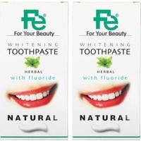 Fe Beyazlatıcı Diş Pastası Natural - Herbal x 2 Adet