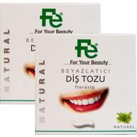 Fe Beyazlatıcı Diş Tozu Natural - Herbal x 2 Adet