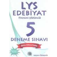 Yason LYS Edebiyat Tamamı Çözümlü 5 Deneme Sınavı