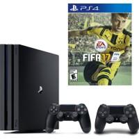 Sony Playstation 4 Pro 1 TB (Ps4 Pro) + 2. Ps4 Kol + Ps4 Fifa 17