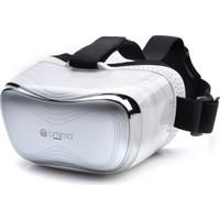 Case 4U Omimo Dahili Ekranlı VR Gözlük HDMI Playstation Xbox PC / Bilgisayar Beyaz