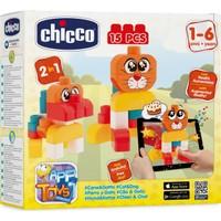 Chicco Eğitici Bloklar - Kedi&Köpek 15 Parça