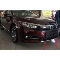 Honda Civic 2016-2017 FC5 Ön Tampon Alt Nikelajı