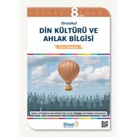 8.Sınıf Din Kültürü ve Ahlak Bilgisi Soru Bankası Bilfen Yayınları