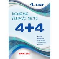 Bloktest 4.Sınıf 4+4 Deneme Sınav Seti Yeni