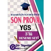 YGS 3 lü Deneme Seti Son Prova Gür Yayınları