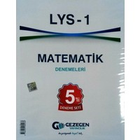 Gezegen Yayıncılık LYS 1 Matematik 5li Deneme Seti