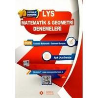 Sonuç Yayınları LYS 1 Matematik Geometri 10 lu Deneme Sınavı