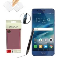 Case Man Huawei Honor 8 Silikon Kılıf Ultra İnce Koruma + Dokunmatik Stylus Kalem