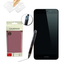 Case Man Huawei Honor GT3 Silikon Kılıf Ultra İnce Koruma + Dokunmatik Stylus Kalem