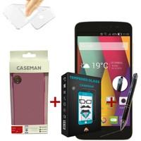 Case Man GM Discovery 2 Mini Silikon Kılıf + Kırılmaz Cam + Stylus Kalem