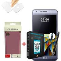 Case Man LG X Cam Silikon Kılıf + + Stylus Kalem