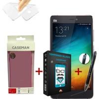 Case Man Xiaomi Mi4s Silikon Kılıf + + Stylus Kalem