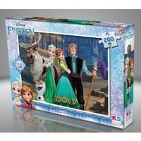 Ks Games 200 Parça Disney Frozen Puzzle 0942