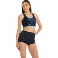 Armes Full Lycra Body Bikini - 7651 - Lacivert