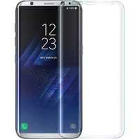 Microsonic Samsung Galaxy S8 Plus 3D Kavisli Temperli Cam Ekran koruyucu Kırılmaz Film