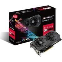 Asus ROG STRIX Amd Radeon RX 570 4GB OC 256Bit GDDR5 (DX12) PCI-E 3.0 Ekran Kartı STRIX-RX570-O4G- Gaming