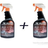 The Solutıon Susuz Araç Yıkama Cilalama - Hızlı Cila, 2 Adet 800 Ml