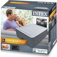 Intex Elektrik Comfort Plus Yüksek Yatak (152x203x56cm) - 64418
