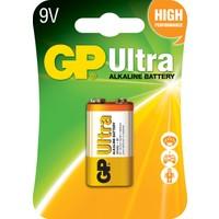 GP Ultra Alkalin Tekli 9V Kare Pil (GP1604AU)