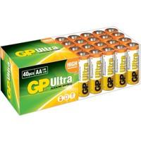 GP Ultra Alkalin 40'lı AA Boy Kalem Pil (GP15AU-2B40)