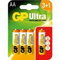 GP Ultra Alkalin 4'lü (3+1) AA Boy Kalem Pil (GP15AU3/1)