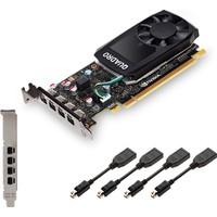 PNY Nvidia Quadro P600 2 GB 128Bit GDDR5 (DRX12) PCI-E 3.0 Ekran Kartı VCQP600DP-PB