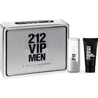 Carolina Herrera 212 VIP Edt 100 Ml + Duş Jeli 100 Ml Erkek Parfüm Seti