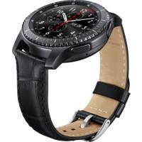 Samsung Siyah Timsah Derisi Gear S3 Kayış