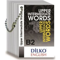 Dilko B2 Upper Intermediate Words Kelime Kartı