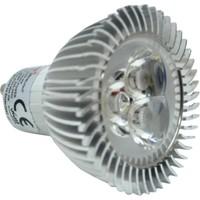 Ack 3W(3X1W) 220V Power Led Eski Tip Spot Ampul (Sarı Işık) Gu10 Duylu