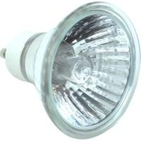 Kengo 50W 220V Halojen Şeffaf Spot Ampul Gu10 Duylu (Sarı Işık)